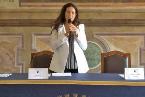 Viterbo - L'assessora Antonella Sberna