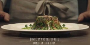 Civita di Bagnoregio nello spot della Farnesina con lo chef Cracco