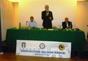 Da sinistra Palanca, Nicchi e Carbonari in un raduno del 2014