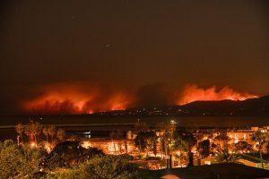 Malibù - L'incendio
