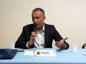L'arbitro Paolo Valeri a Viterbo