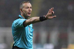Sport - Calcio - L'arbitro internazionale Paolo Valeri