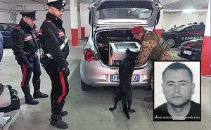 L'operazione Ichnos dei carabinieri - Nel riquadro: Ismail Rebeshi
