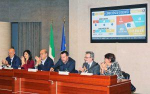 Roma - La conferenza di servizi dell'Agenzia nazionale per l'amministrazione e la destinazione dei beni sequestrati e confiscati