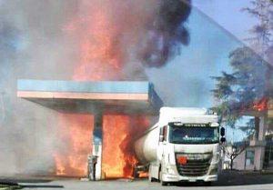 Rieti - Esplosione sulla Salaria