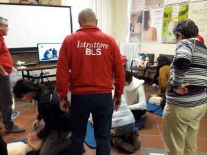 Corsi per defibrillatore all'università agraria di Tarquinia