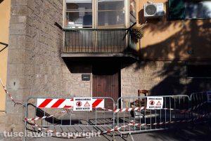Incendio al Carmine - L'abitazione diAndrea Nerici