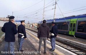 Porta Fiorentina - La polizia ferroviaria