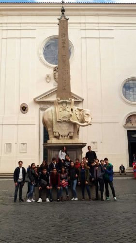"""L'Iis Vincenzo Cardarelli di Tarquinia a """"Welcome to Rome"""""""