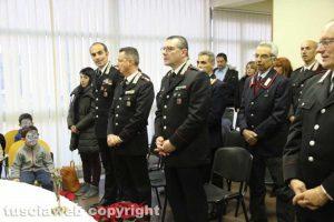 Viterbo - Messa e scambio d'auguri al comando dei carabinieri