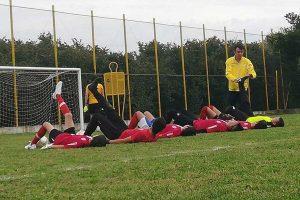 Sport - Calcio - Ronciglione - L'allenamento del settore giovanile