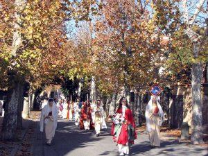 Barbarano Romano - I festeggiamenti per Santa Barbara