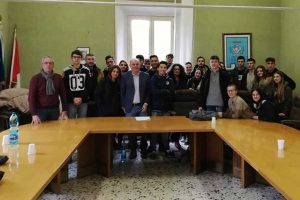 Gli studenti del Cardarelli a Tolfa
