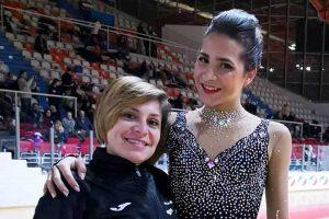 Sport - Pattinaggio artistico - Ludovica Esposito terza al campionato nazionale Libertas