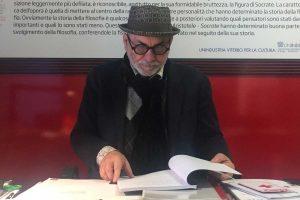 Viterbo - Paolo Pelliccia della biblioteca consorziale