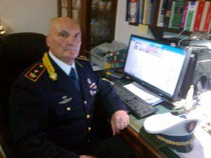 Il maggiore Luciano Mattarelli