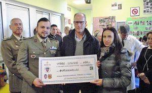"""Viterbo - Esercito - Devoluto il ricavato della """"straviterbo 2018"""""""