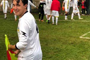 Sport - Calcio - Proceno - L'esultanza dei viterbesi