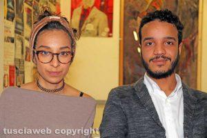 Viterbo - Omar Neffati e Yasmin Bazar Alfaro