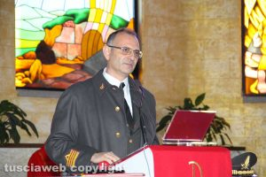 Il comandante dei vigili del fuoco Emanuele Pianese