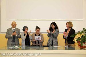 Gaia Rita Iervolino riceve il premio Centamore