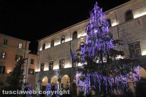 Viterbo - Luci di Natale nel centro storico