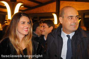 Alessandra Troncarelli e Nicola Zingaretti
