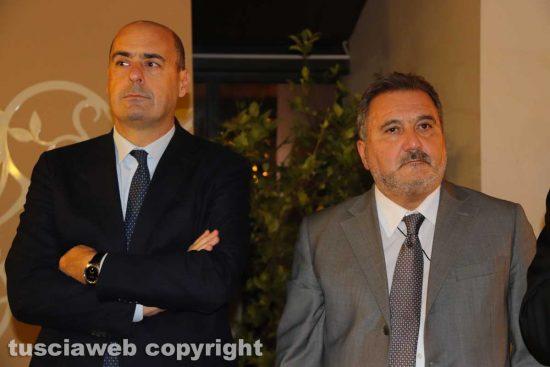 Nicola Zingaretti ed Enrico Panunzi