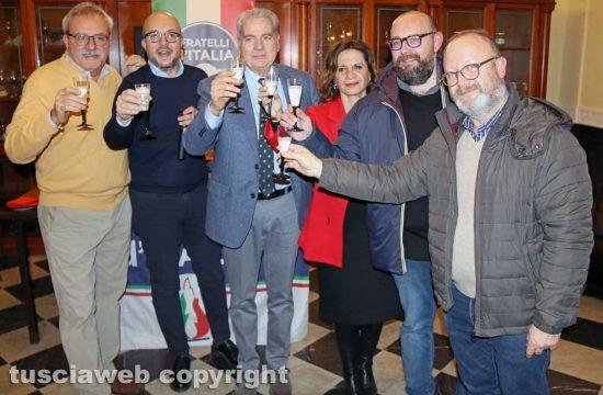 Il brindisi di Natale di Fratelli d'Italia