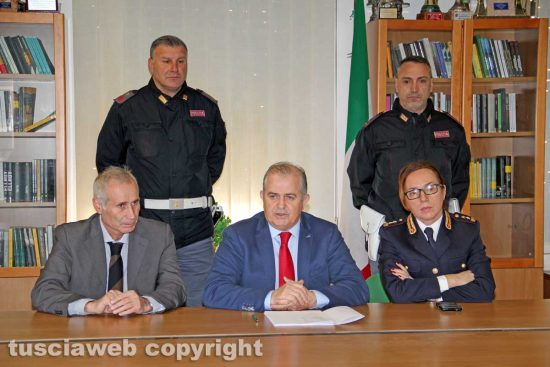 La conferenza stampa di fine anno del questore Massimo Macera