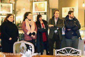 Viterbo - La presentazione del murales dedicato a Civita di Bagnoregio