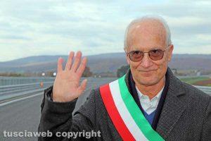 Monte Romano - Il sindaco di Vetralla Franco Coppari