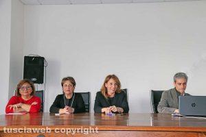 Viterbo - La conferenza stampa alla Cittadella della salute
