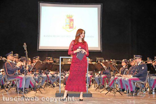 Viterbo - La banda musicale della Polizia di stato