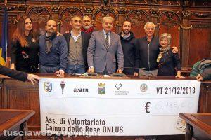 Viterbo - La raccolta fondi per Campo delle rose