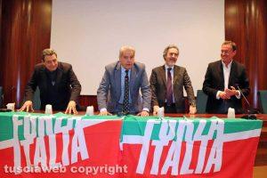 Viterbo - Gli auguri di Natale di Forza Italia