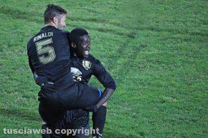 Sport - Calcio - Viterbese - Bismark Ngissah e Michele Rinaldi