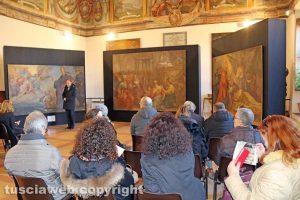 Viterbo - Gli affreschi di Santa Maria in Volturno