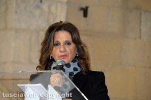 Laura Allegrini, assessore ai lavori publici del comune di Viterbo