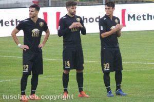 Sport - Calcio - Viterbese - Andrea De Vito, Luca Baldassin e Samuele Damiani