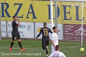 Sport - Calcio - Viterbese - Alessandro Polidori dopo il secondo gol