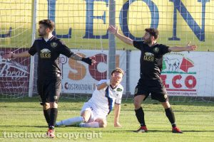 Sport - Calcio - Viterbese - Luca Baldassin e Mario Pacilli