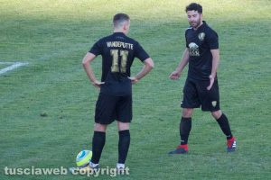 Sport - Calcio - Viterbese - Jari Vandeputte e Mario Pacilli