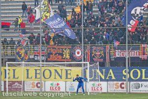 Sport - Calcio - Viterbese - Francesco Forte e il settore ospiti