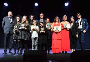 I premiati del Mini festival 2018