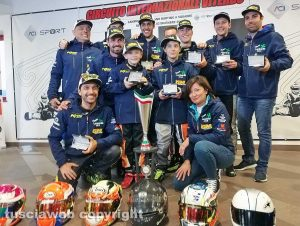 Viterbo - Sport - Karting a squadre - Il team della Lombardia