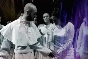 Tuscania - Lo spettacolo 'Karol il grande'