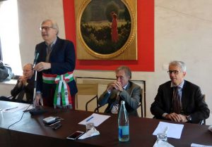 Sutri - Sgarbi, Auriemma, Ferri e Ainis hanno intitolato cippi a Borsellino e Tortora