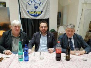 Gallese - Umberto Fusco alla cena della Lega