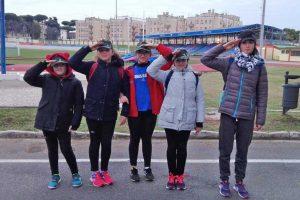 Sport - Atletica leggera - Le ragazze dell'Atletica Vetralla